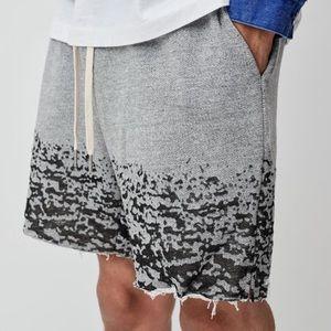 John Elliott Burnout shorts.
